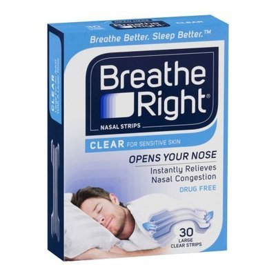 BREATHE RIGHT CLEAR 30 LGE