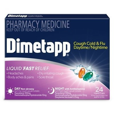 DIMETAPP ADULT DAY/NIGHT 24