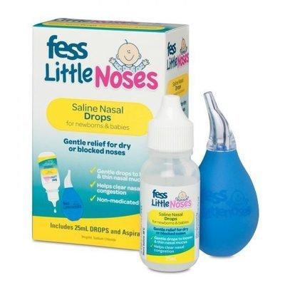 FESS LITTLE NOSES DROP+ASPRTOR 25ML