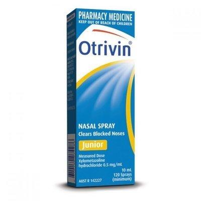 OTRIVIN M/D NASAL SPRAY 10ML JNR