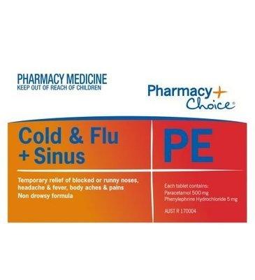 PC COLD & FLU TAB 24 PE