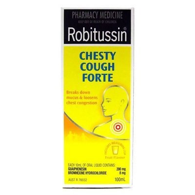 ROBITUSSIN CHESTY FORTE 100ML