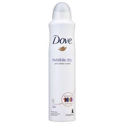 DOVE A/P INVISIBLE DRY 250ml