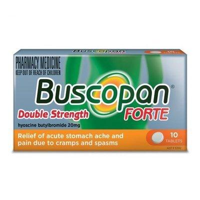BUSCOPAN FORTE 20MG 10 TABS