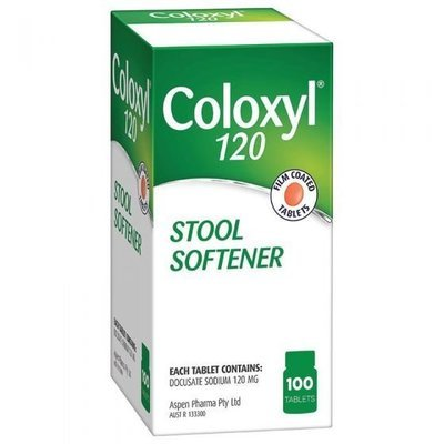COLOXYL 120MG 100 TABS