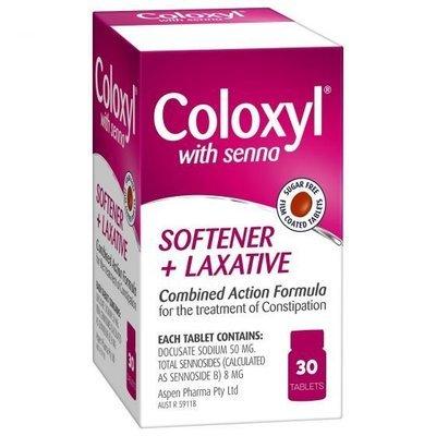 COLOXYL & SENNA 30 TABS