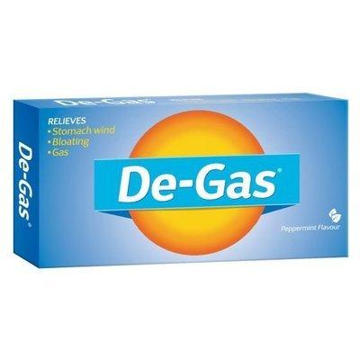 DE GAS 100MG 24 CAPS