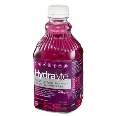 HYDRALYTE APPLE BLACKCURRANT 1LTR