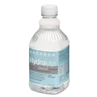 HYDRALYTE LEMONADE COLOUR FREE 1L