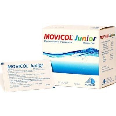 MOVICOL JUNIOR 6.9G CHOC 30 PK