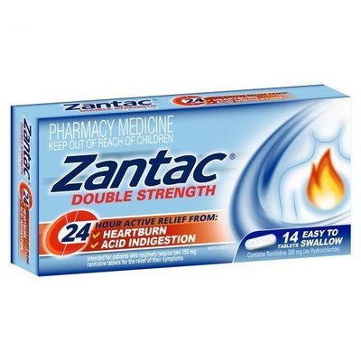 ZANTAC 24HR 300MG 14