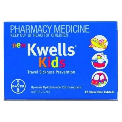 KWELLS KIDS 12 TABS