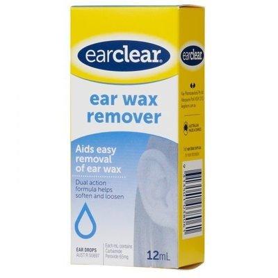 EAR CLEAR EAR WAX 12ML
