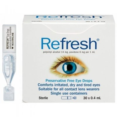 REFRESH EYE DROPS 0.4ML 30