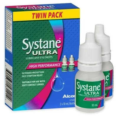 SYSTANE ULTRA 10ML TWIN PACK