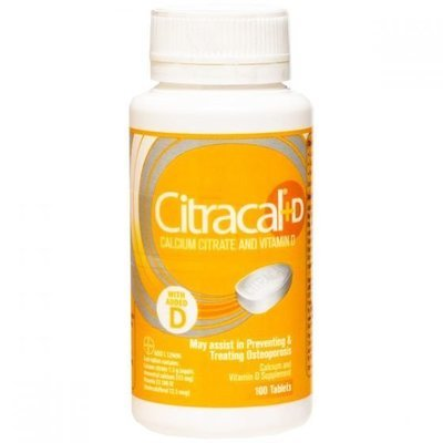 CITRACAL +D 100 TAB