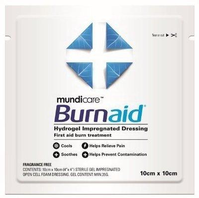 BURNAID BURN DRESSING 10X10CM