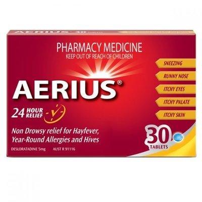 AERIUS 5MG TAB 30
