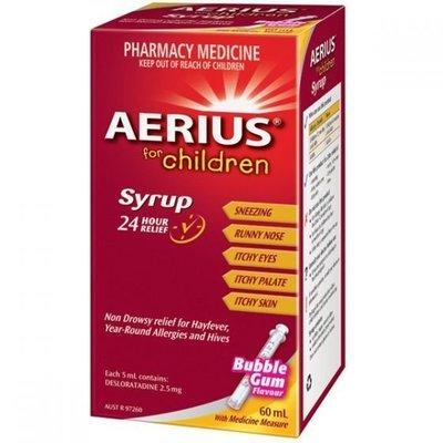 AERIUS SYRUP 60ML
