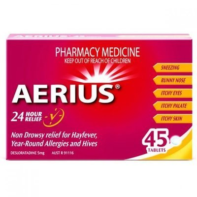 AERIUS TABLETS 45