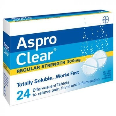ASPRO CLEAR 24 TABS
