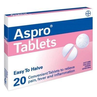 ASPRO TABS  20