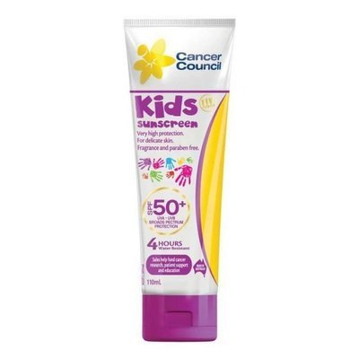 CANCER COUNCIL  SPF50+ KIDS TUBE 110ML