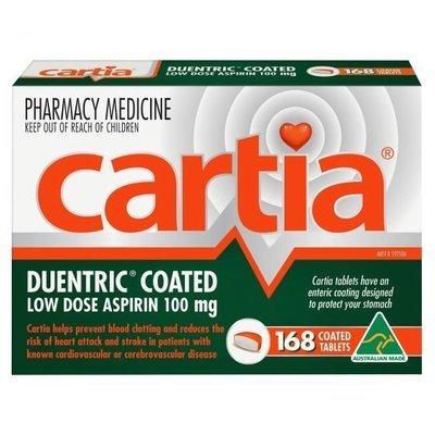 CARTIA 100MG 168 TAB