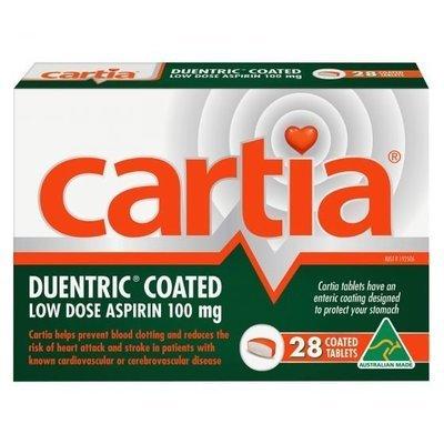 CARTIA  28 TAB