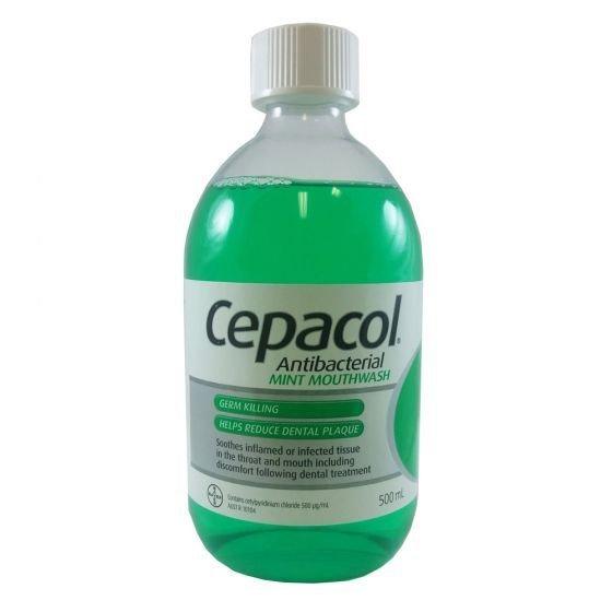 CEPACOL MOUTHWASH MINT 500ML
