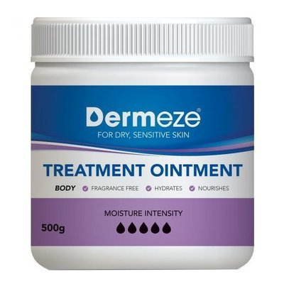 DERMEZE TREATMENT OINTMENT JAR 500G