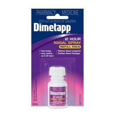 DIMETAPP NASAL SPRAY REFILL 20ML