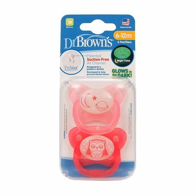 Dr Brown's Orthodontic Pacifier Stage 2 - 2pck