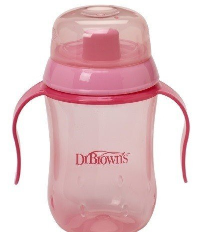 Dr Brown's Training cup Pink  270 ml