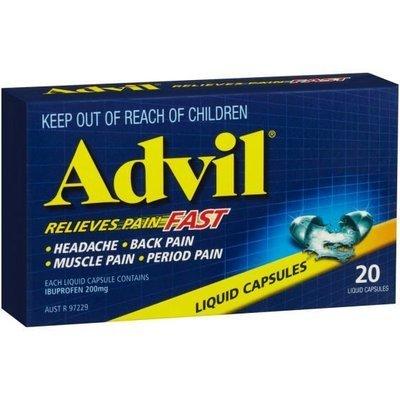ADVIL CAP LIQUID  20