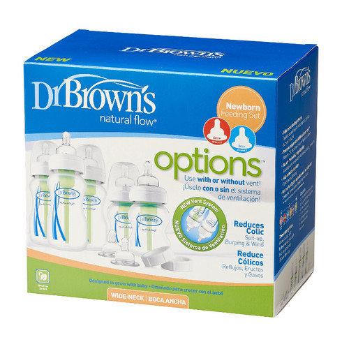 Dr Brown's Wide Neck Newborn Gift Set