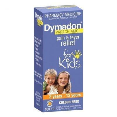 DYMADON KID 2-12YR 100ML C/F