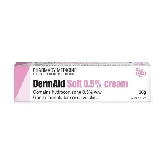 EGO DERMAID CREAM SOFT 0.5%  30G
