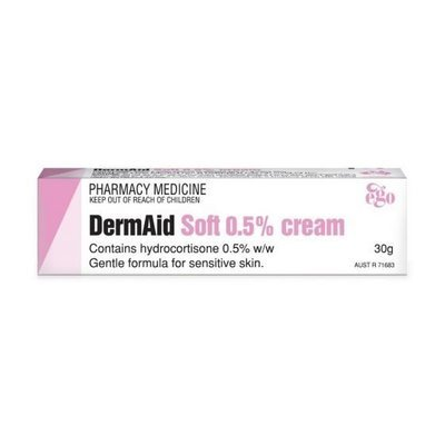 EGO DERMAID CREAM SOFT 0.5%  30G