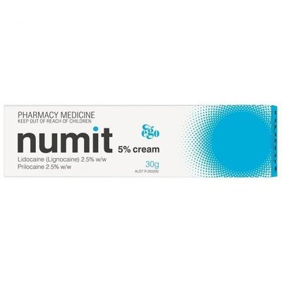 EGO NUMIT 5% CREAM 30G
