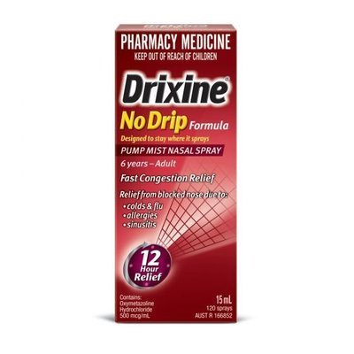 DRIXINE ADULT NASAL SPRAY 15ML