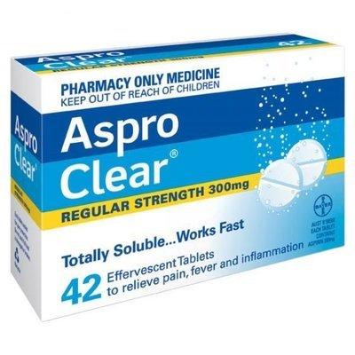 ASPRO TAB CLEAR  42