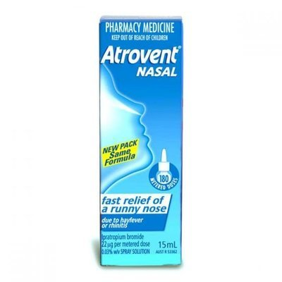 ATROVENT NASAL SPRAY PUMP 15ML