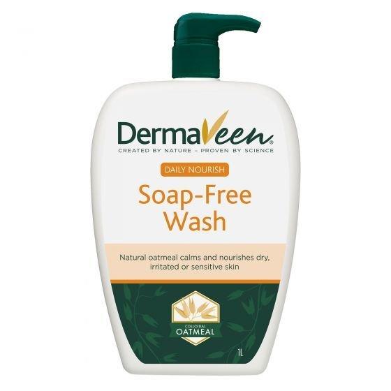 DERMAVEEN EVERYDAY SOAP FREE WASH 1 LT