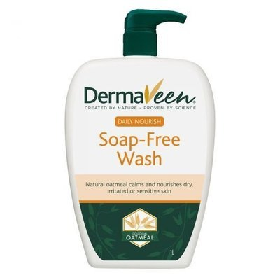 DERMAVEEN EVERYDAY SOAP FREE WASH 1 LT