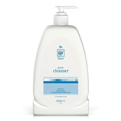 EGO QV FACE GENTLE CLEANSER 500G
