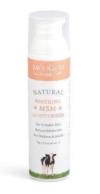 MooGoo Skin Soothing Cream + MSM 75g