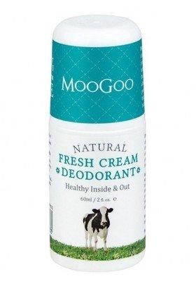 MooGoo Fresh Cream deodorant Roll-on, 60mL