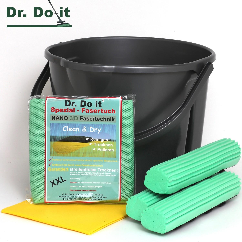 Dr. Do It Doppelkammer-Eimer im Set