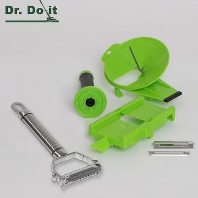 Multi-Slicer Set, grün
